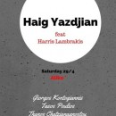 haig yazdjian + friends @ aliko | 2017-04-29