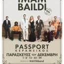 IMAM BAILDI | ΠΑΡΑΣΚΕΥΕΣ 1/8/15/22 & 29 ΔΕΚΕΜΒΡΙΟΥ | PASSPORT ΚΕΡΑΜΕΙΚΟΣ – UPSTAIRS!