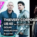 Thievery Corporation/UB40/Golan/Dusk and More | Release Athens 2018